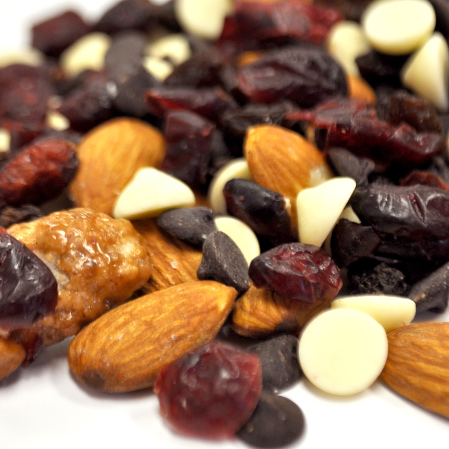 Wholesale Healthy Snack Mix is named 'Raspberry Rage'