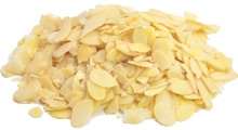 Picture of Almonds - Sliced Blanched 25 Lb.